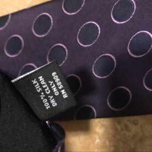 Murano Accessories - Purple Murano Tie